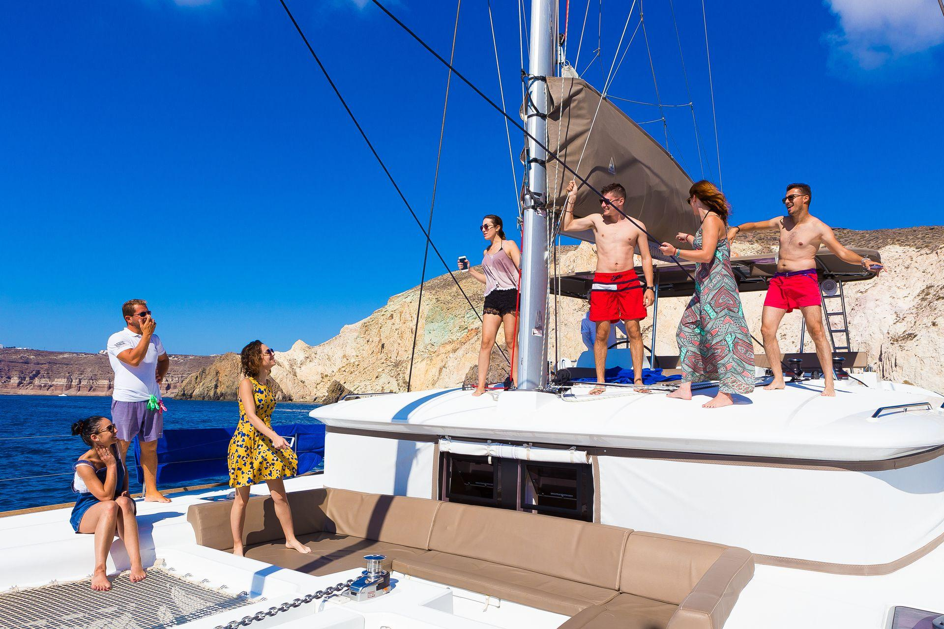 Santorini Private Party Sailing