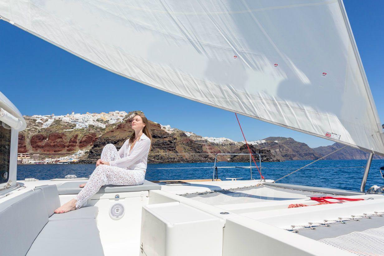 Santorini Catamaran Sunset Cruises