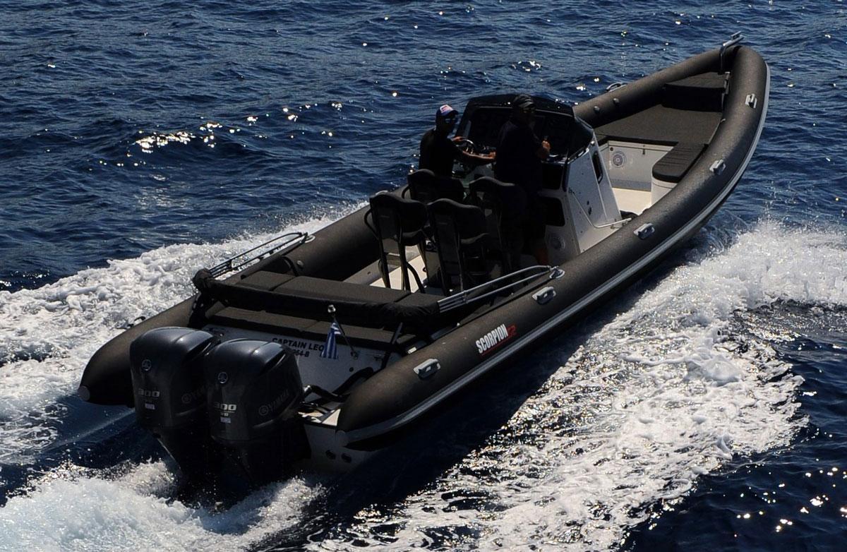 "Rib Boat ""Captain Leo"" in Santorini | Spiridakos Sailing ..."