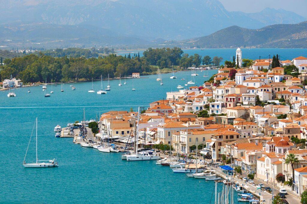 Sailing from Athens   Saronic islands